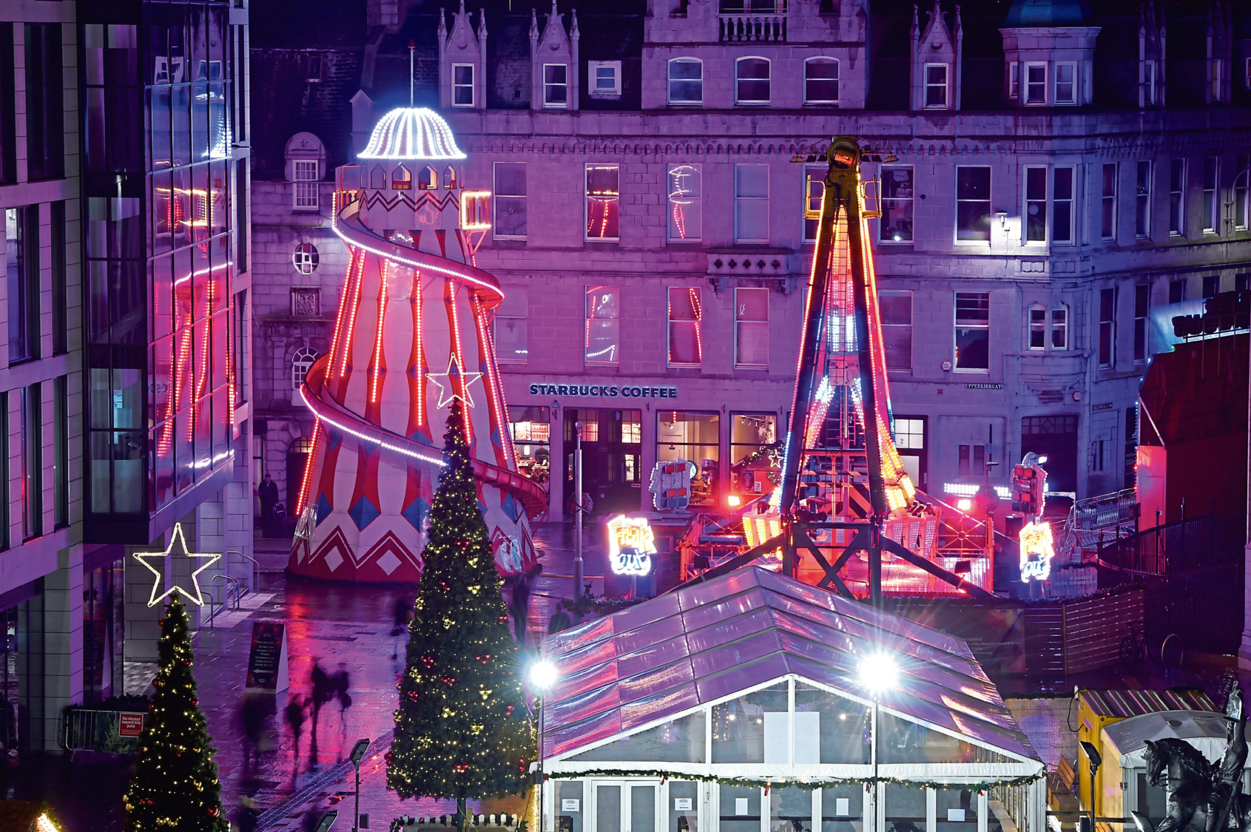 Aberdeen will host a Christmas light display this year.