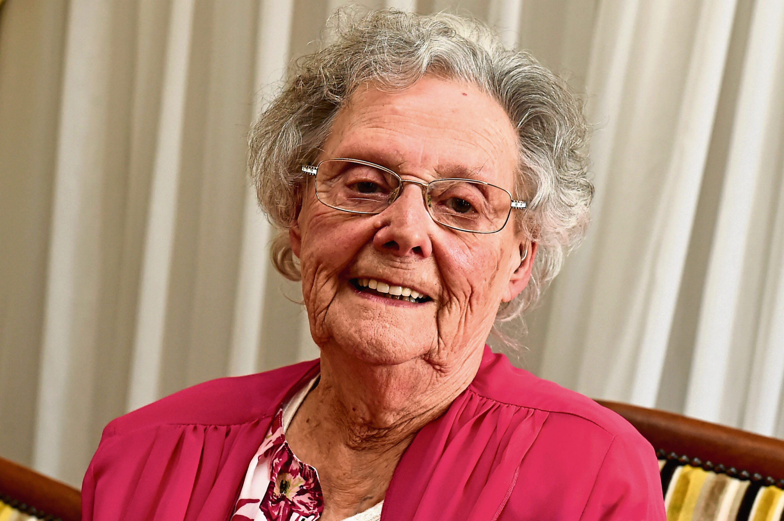 Millicent Birse celebrated her 90th birthday. Picture by Kenny Elrick