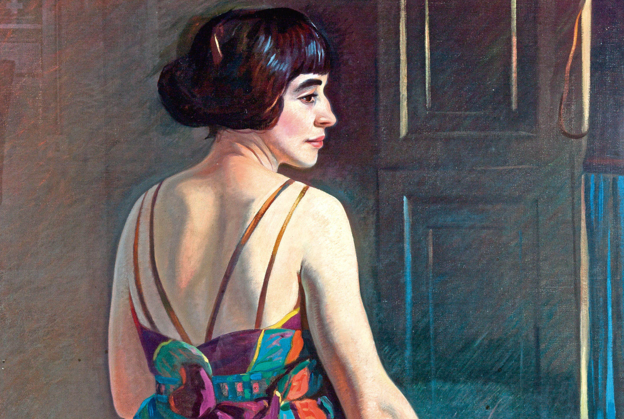 Cecile by Eric Robertson, 1922