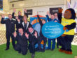 Giddy and the team help launch the Easter egg appeal
