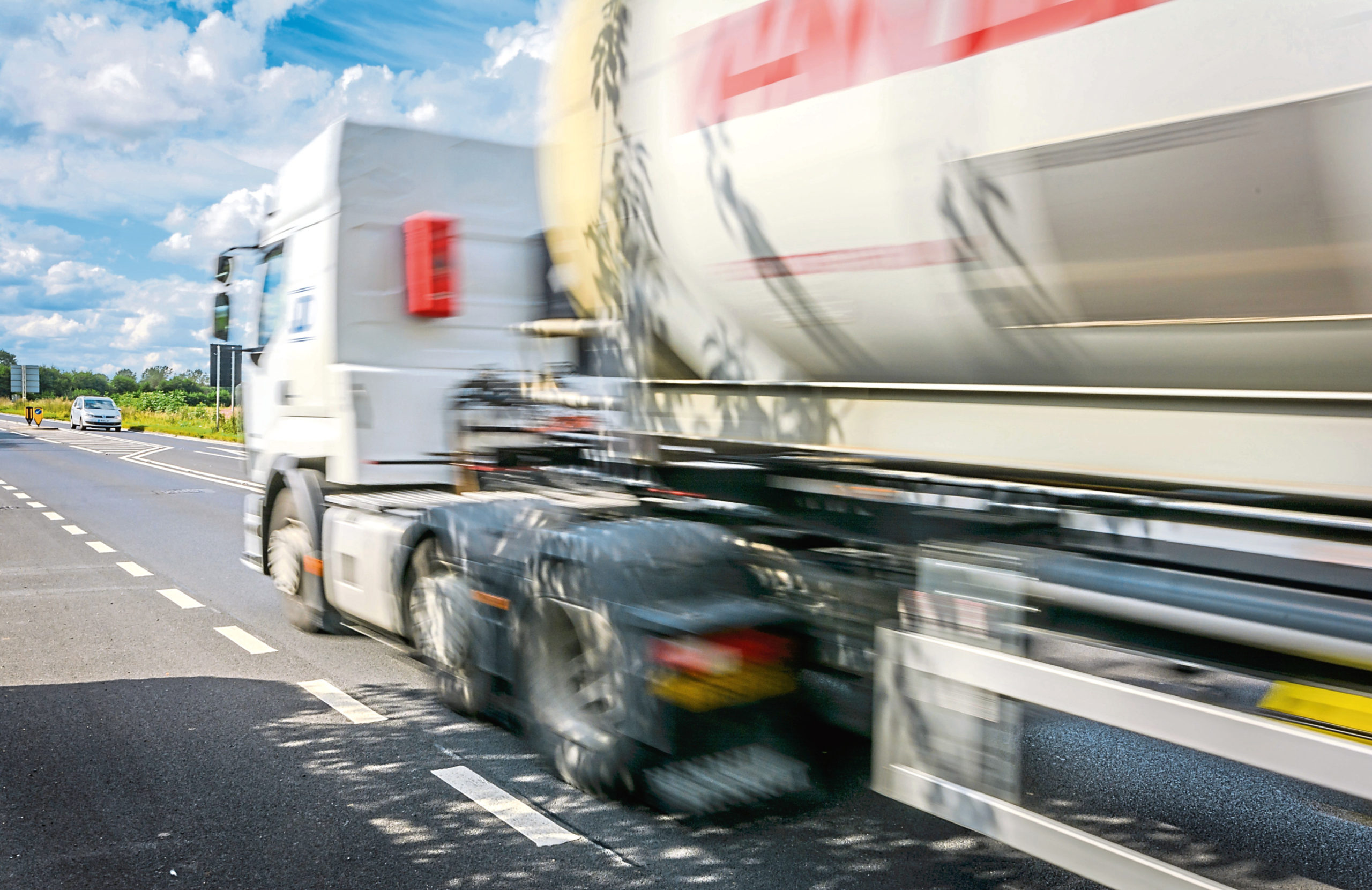 HGVs are now banned