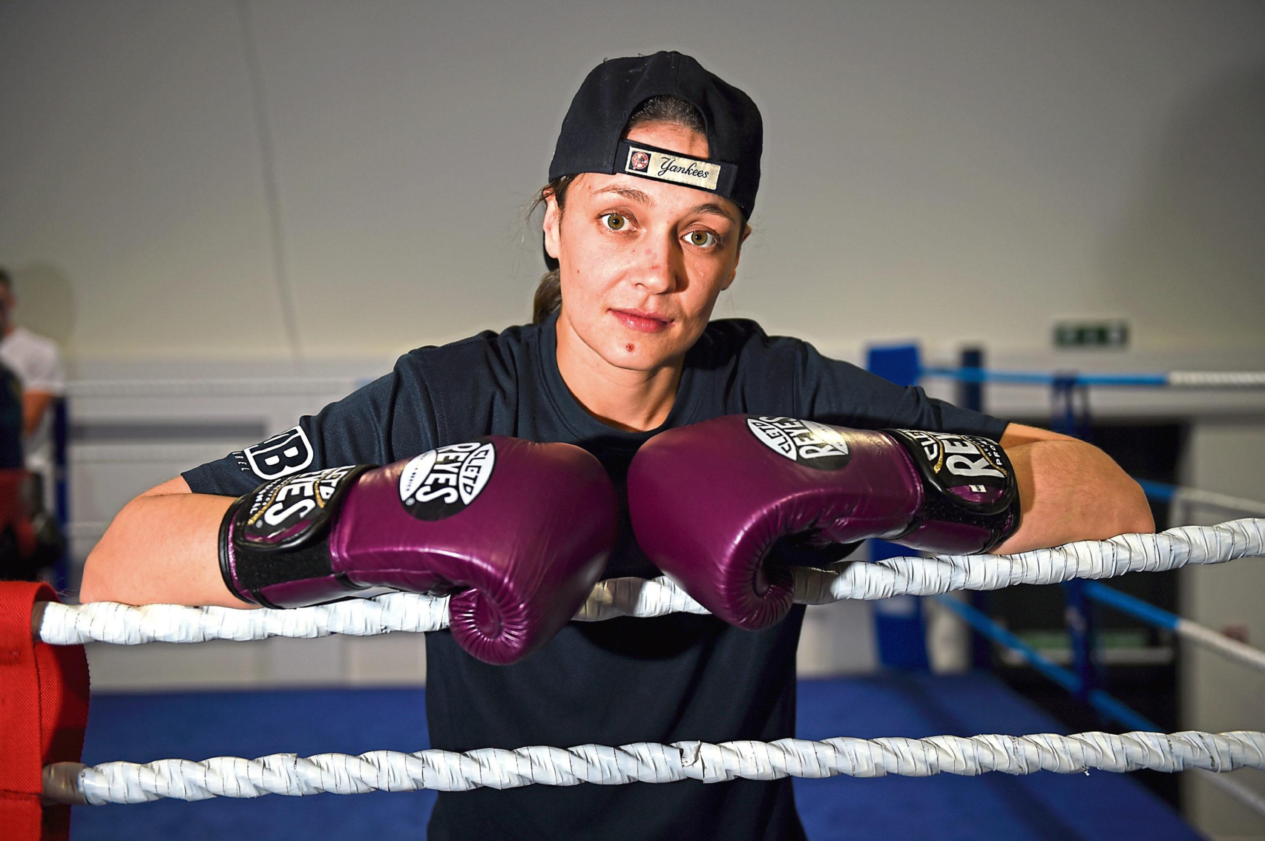 Aberdeen boxer Kristen Fraser.
