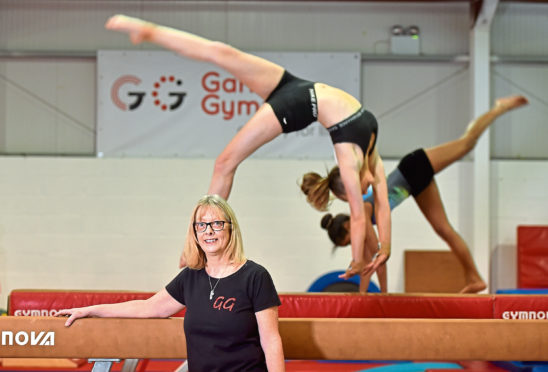 Garioch Gymnastics Club head coach Trish Swan has been involved with the group for 22 years, and helps to train gymnasts of all abilities