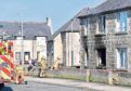 Emergency services at the scene of the gas explosion in Moray Road
