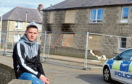 A gas explosion in Fraserburgh has destroyed the house block where dad-of-two Jodie Forman lived