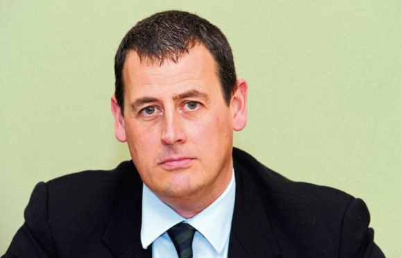 Alan Massie of Carlton Rock is calling for a freeze of business rates