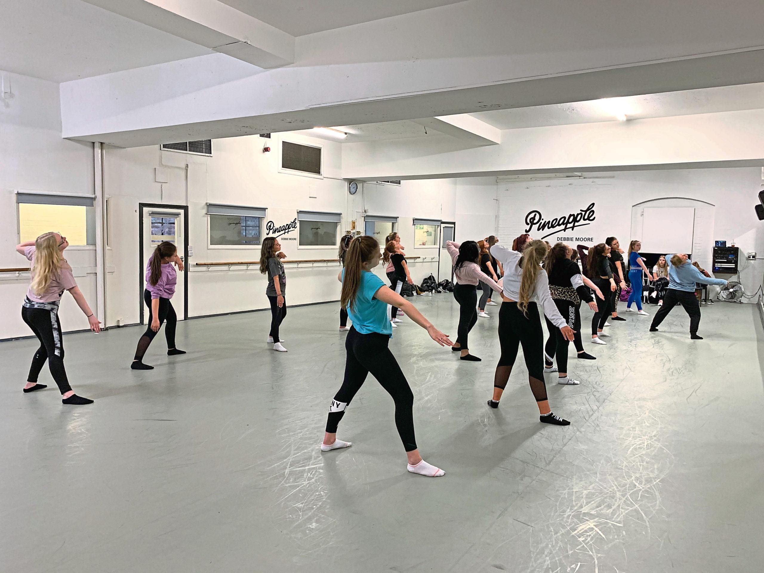 Peterhead Academy pupils took part in the workshops