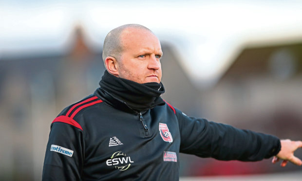 Inverurie boss Andy Low.