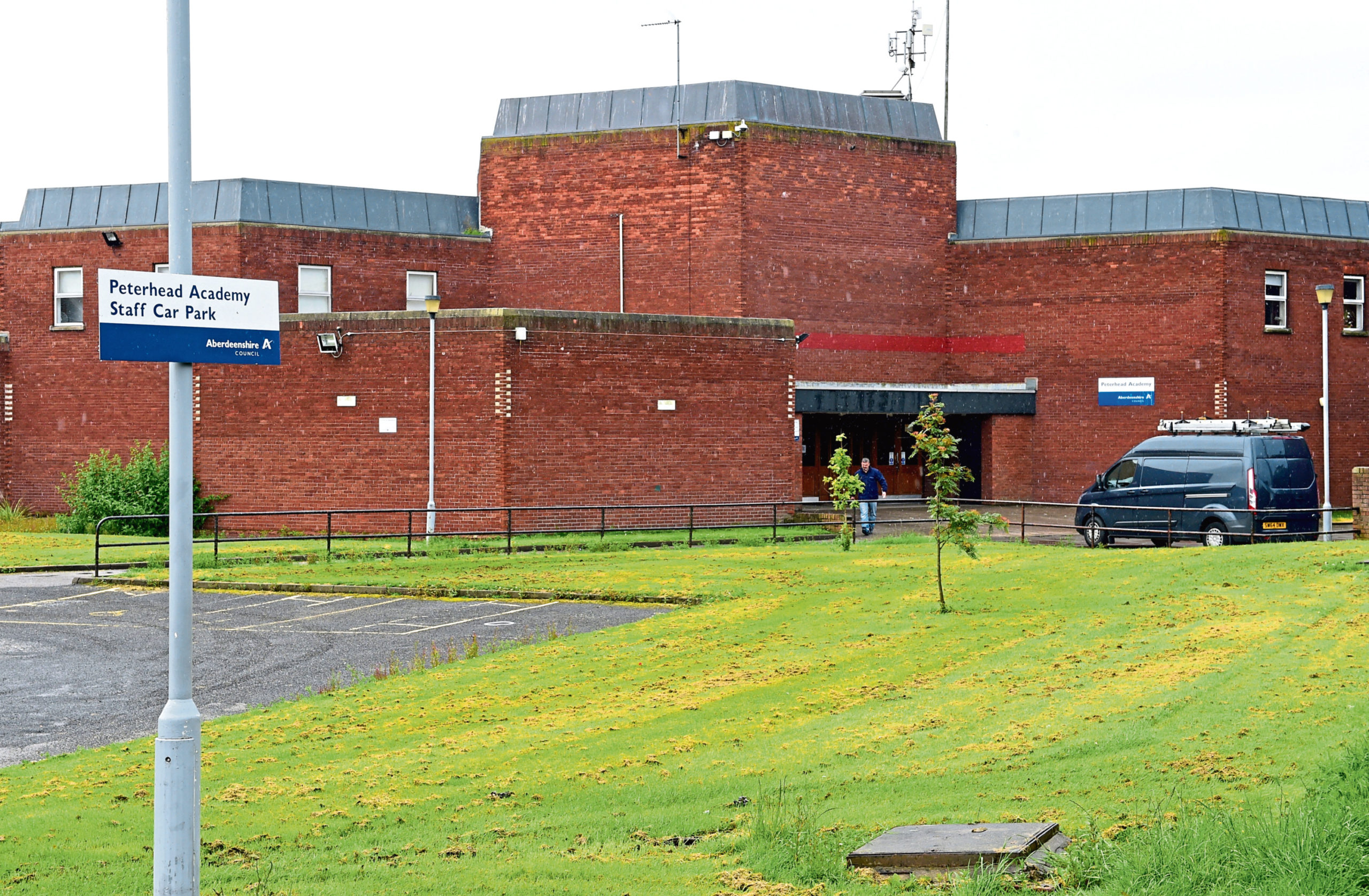 The current Peterhead Academy building