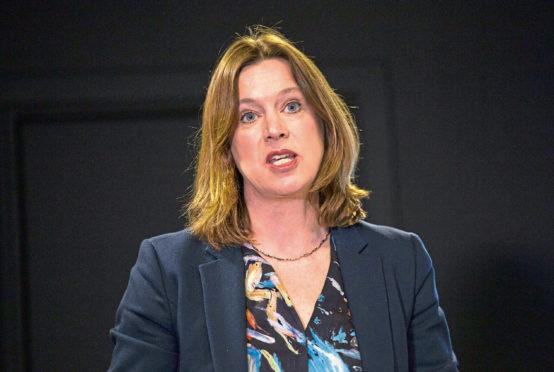 Chief Medical Officer Dr Catherine Calderwood