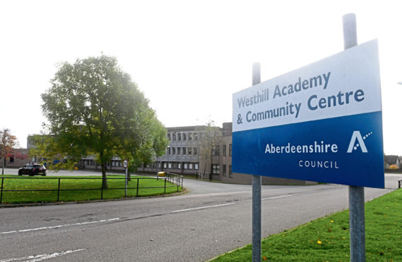 Westhill Academy and every other council-run school in Scotland will be closed to pupils for the foreseeable future