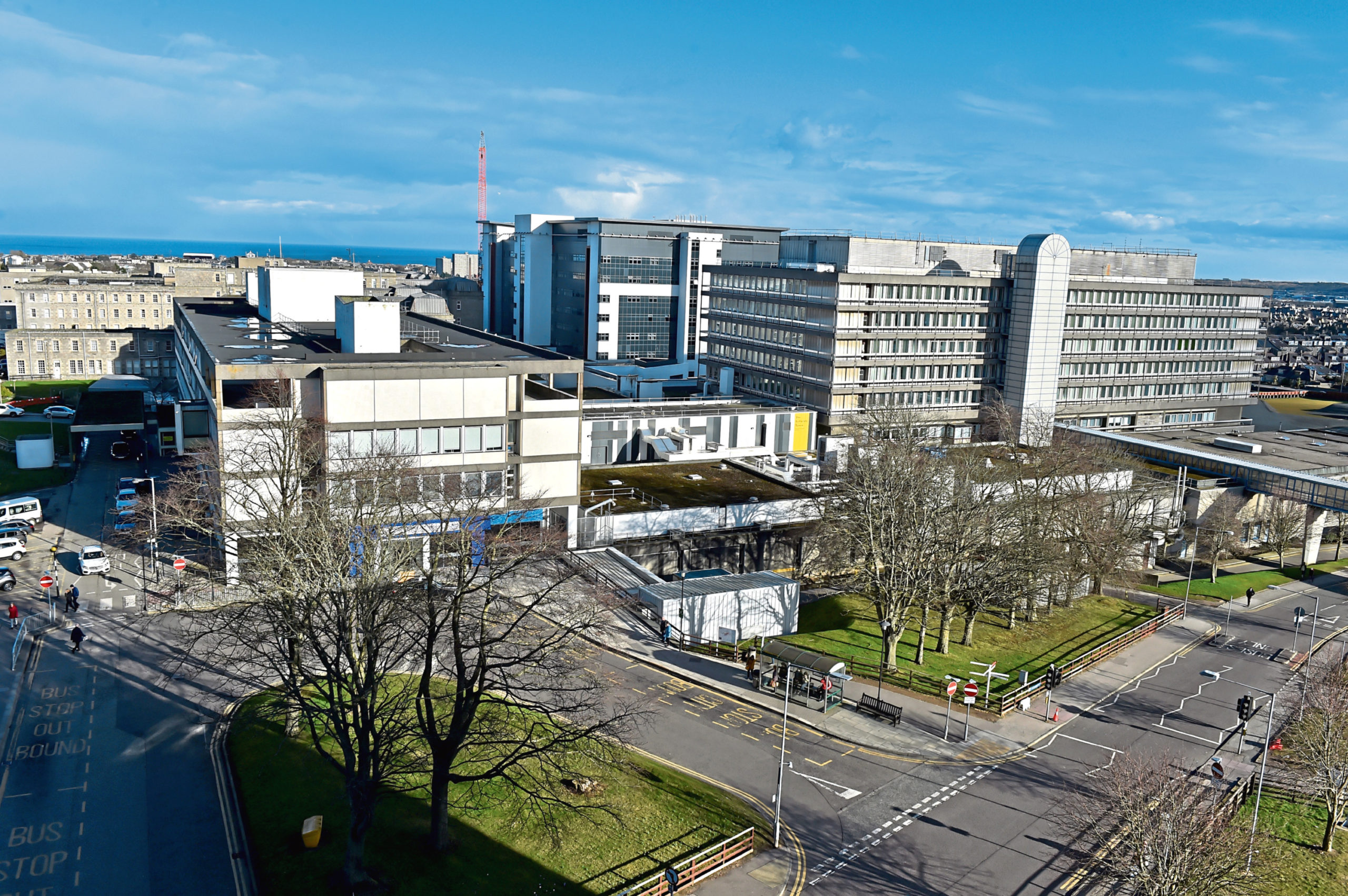 Aberdeen Royal Infirmary can now begin work on its new cath lab