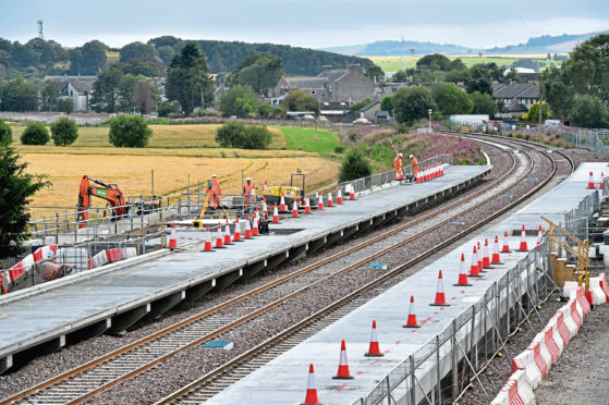 The new Kintore station