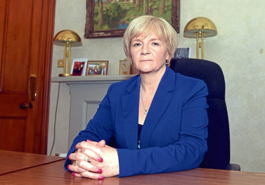 """Council co-leader Jenny Laing confirmed the """"Aberdeen Nine"""" are facing a hearing"""