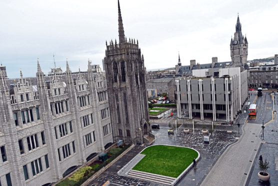 Aberdeen City Council headquarters