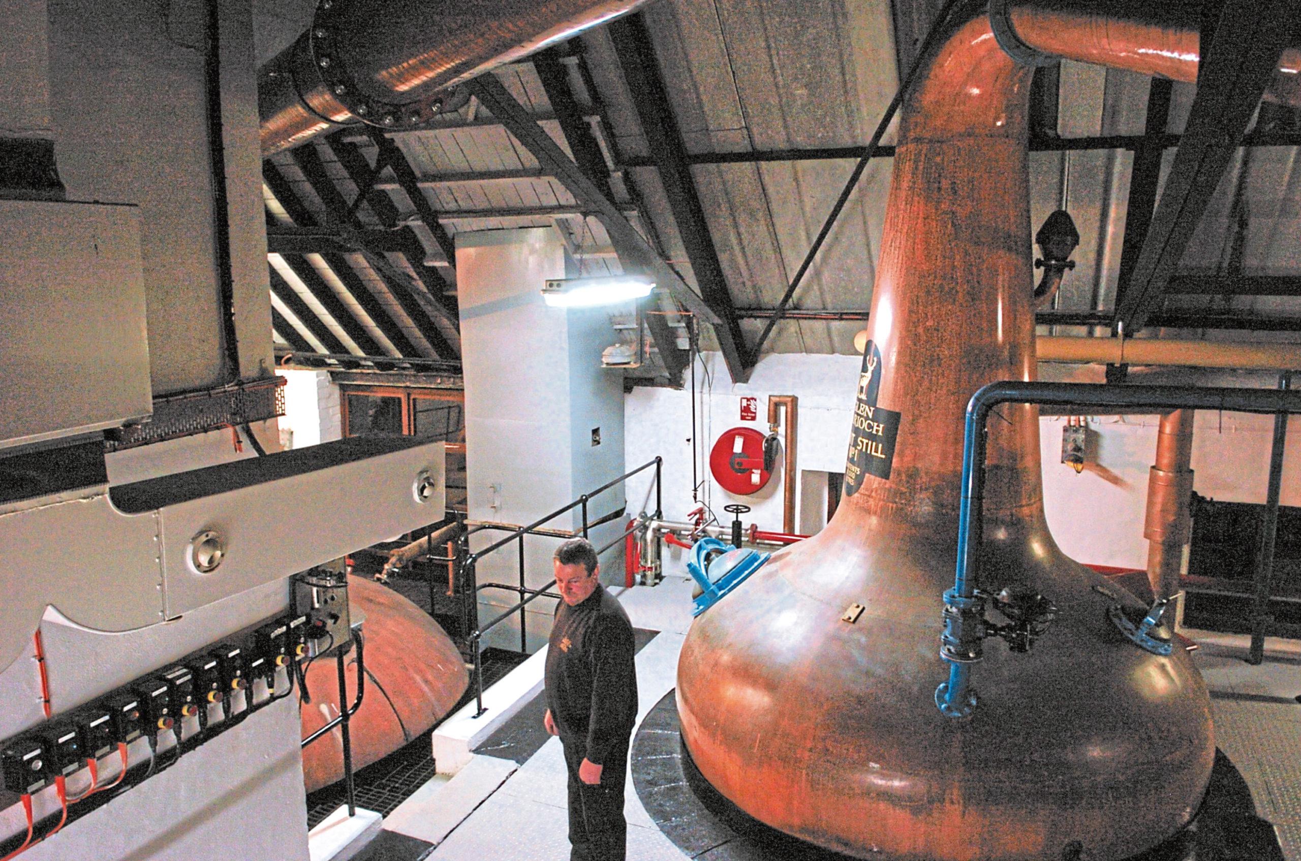 Glengarioch Distillery