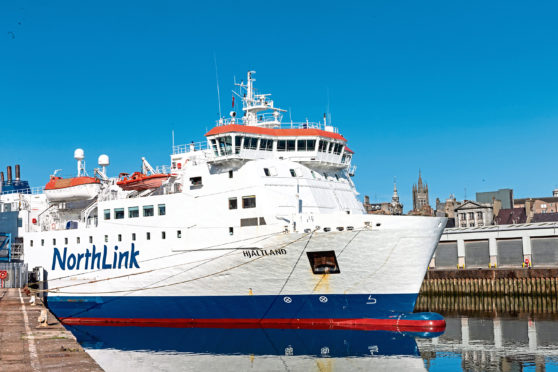 Northlink Ferries has confirmed new reduced ferry services for essential travel only