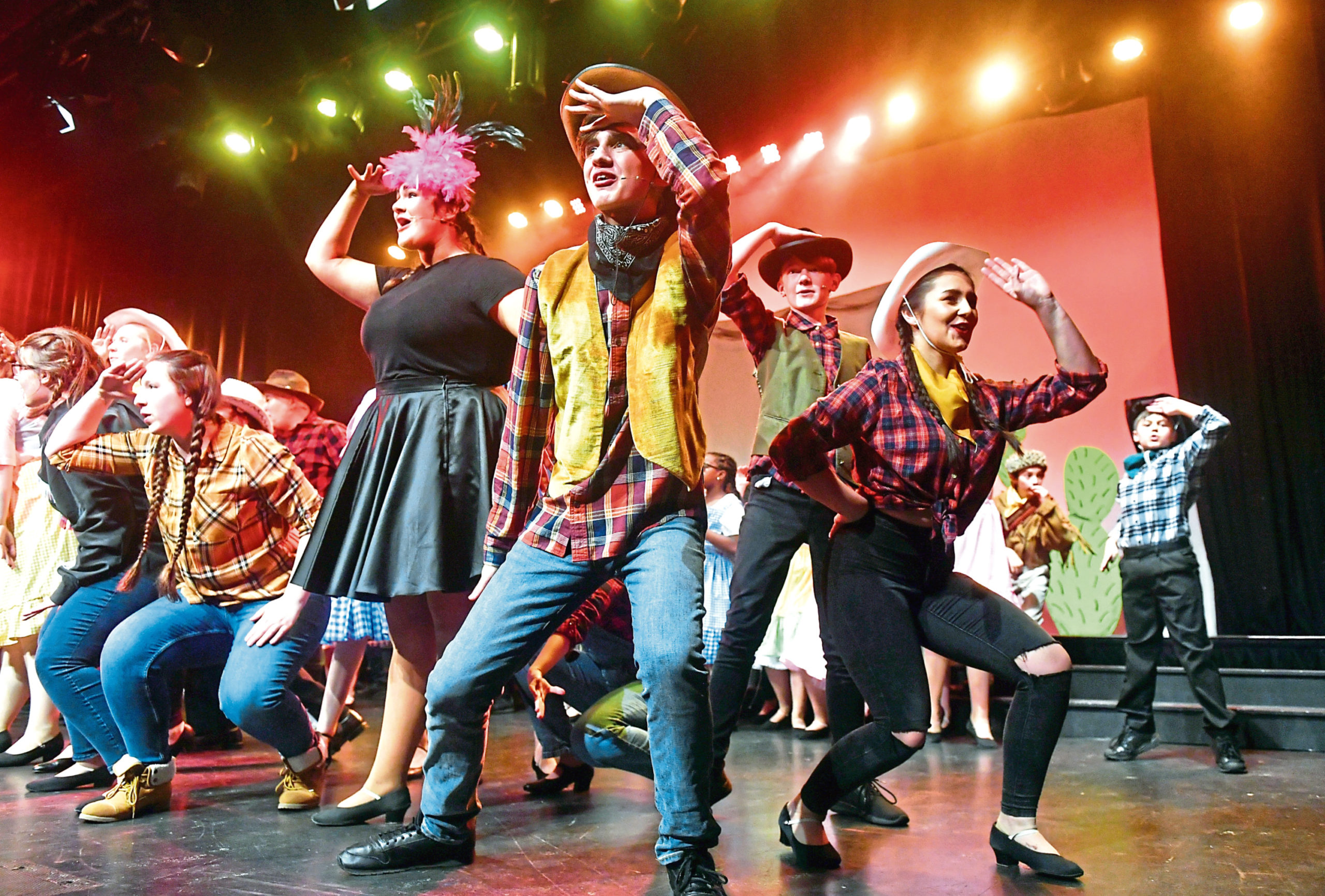 The 2020 Gang Show held at Aberdeen Arts Centre