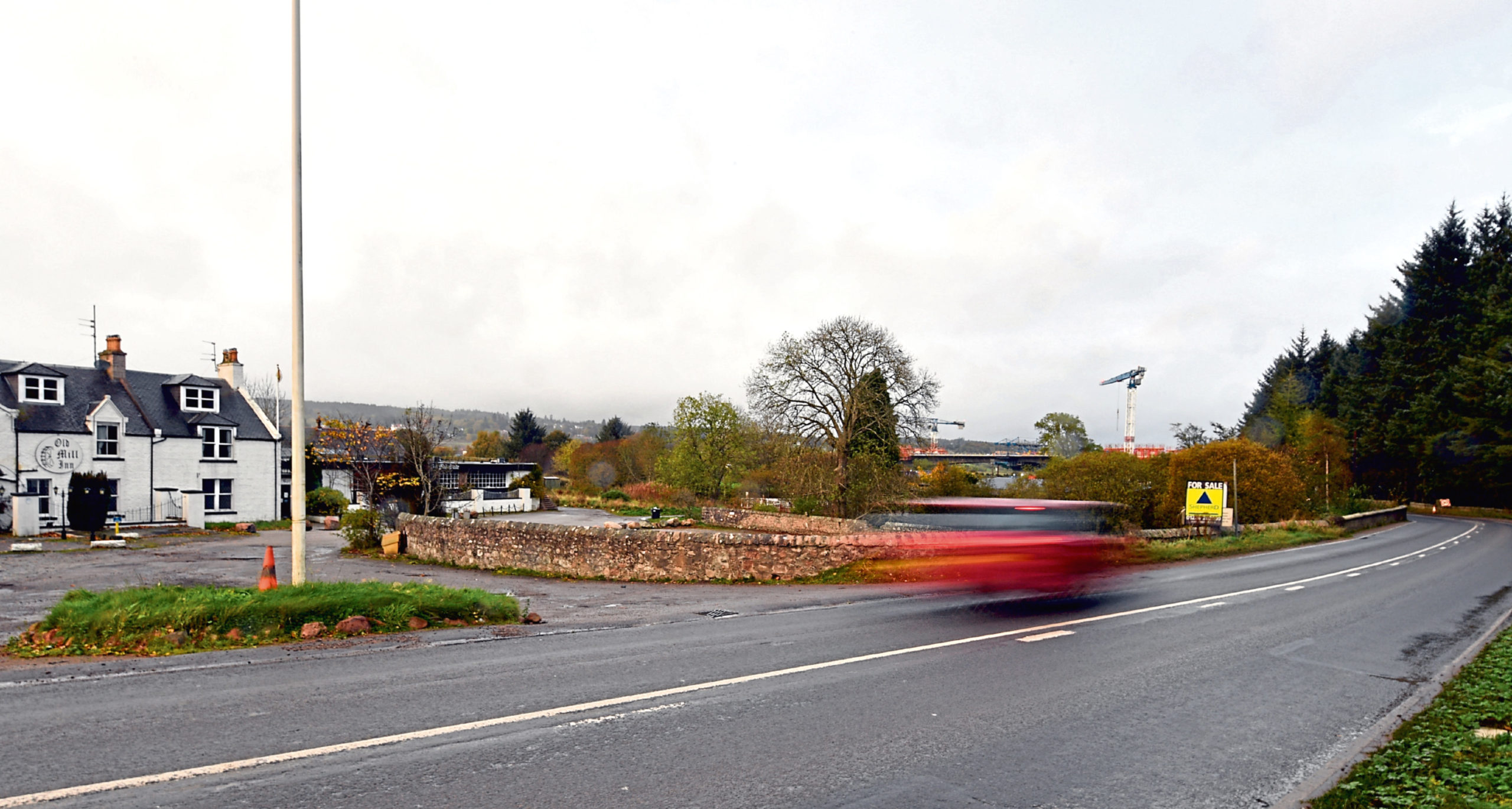 The junction of the B9007 South Deeside Road with Milltimber Brae has been the site of several accidents
