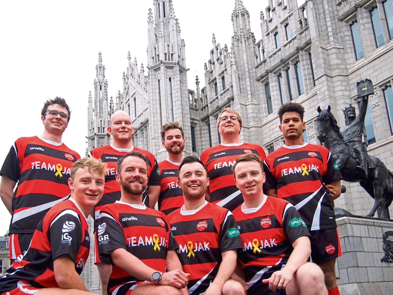 The Aberdeen Taexali Rugby Club.