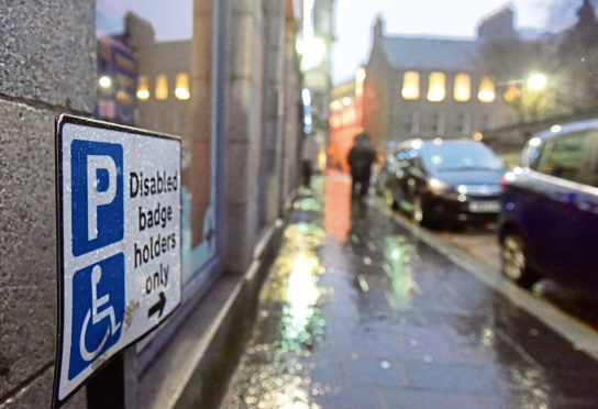 The growing problem of disabled parking bay abuse