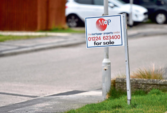 House prices are falling, as are the number of transactions being carried out in the north-east