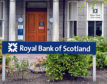 Royal Bank of Scotland on Albyn Place, Aberdeen