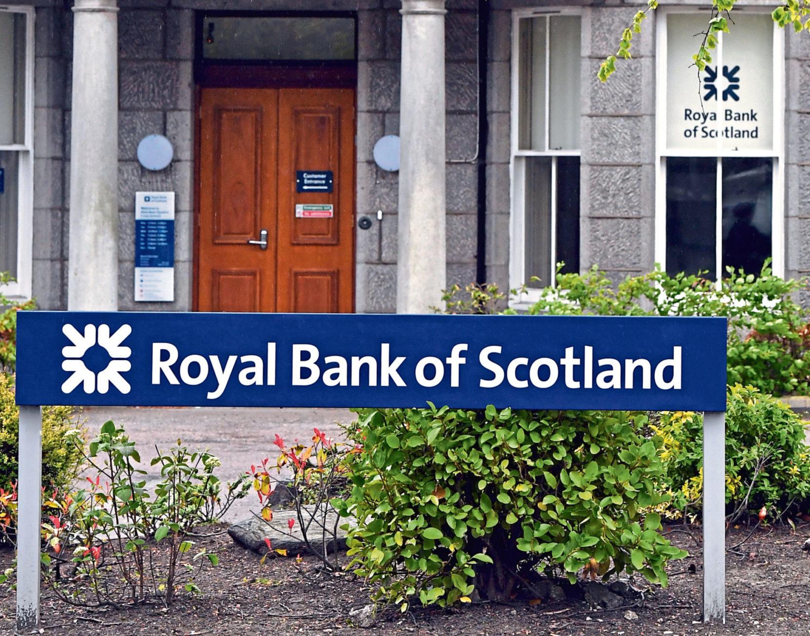 Royal Bank of Scotland on Albyn Place, Aberdeen