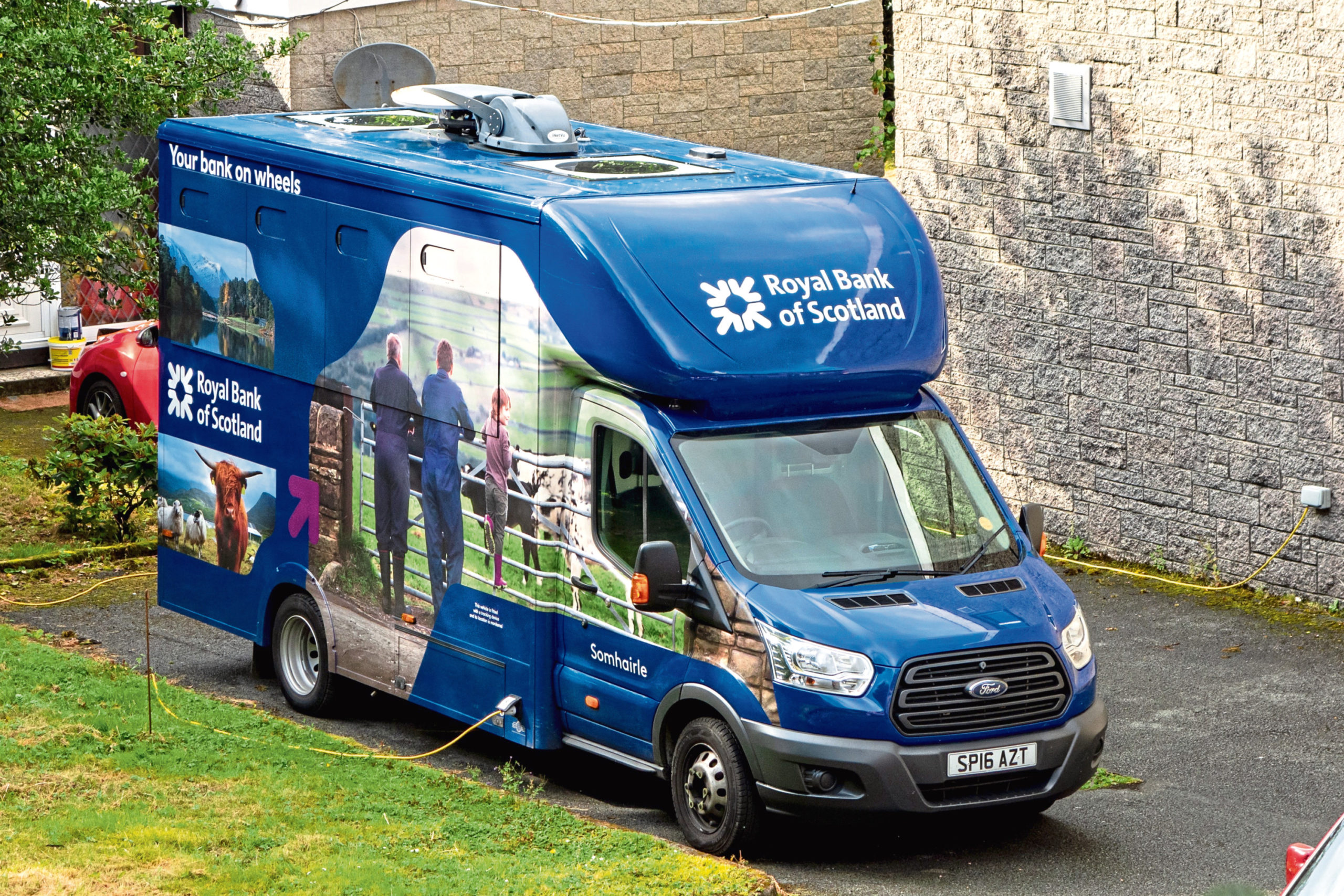 Mobile banks are to be temporarily scrapped as part of the response to the coronavirus pandemic