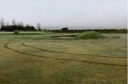 The damage at Oldmeldrum Golf Club