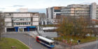 The drop-off in demand led to bus timetable changes but some NHS staff at Aberdeen Royal Infirmary have been struggling to make their shifts on time