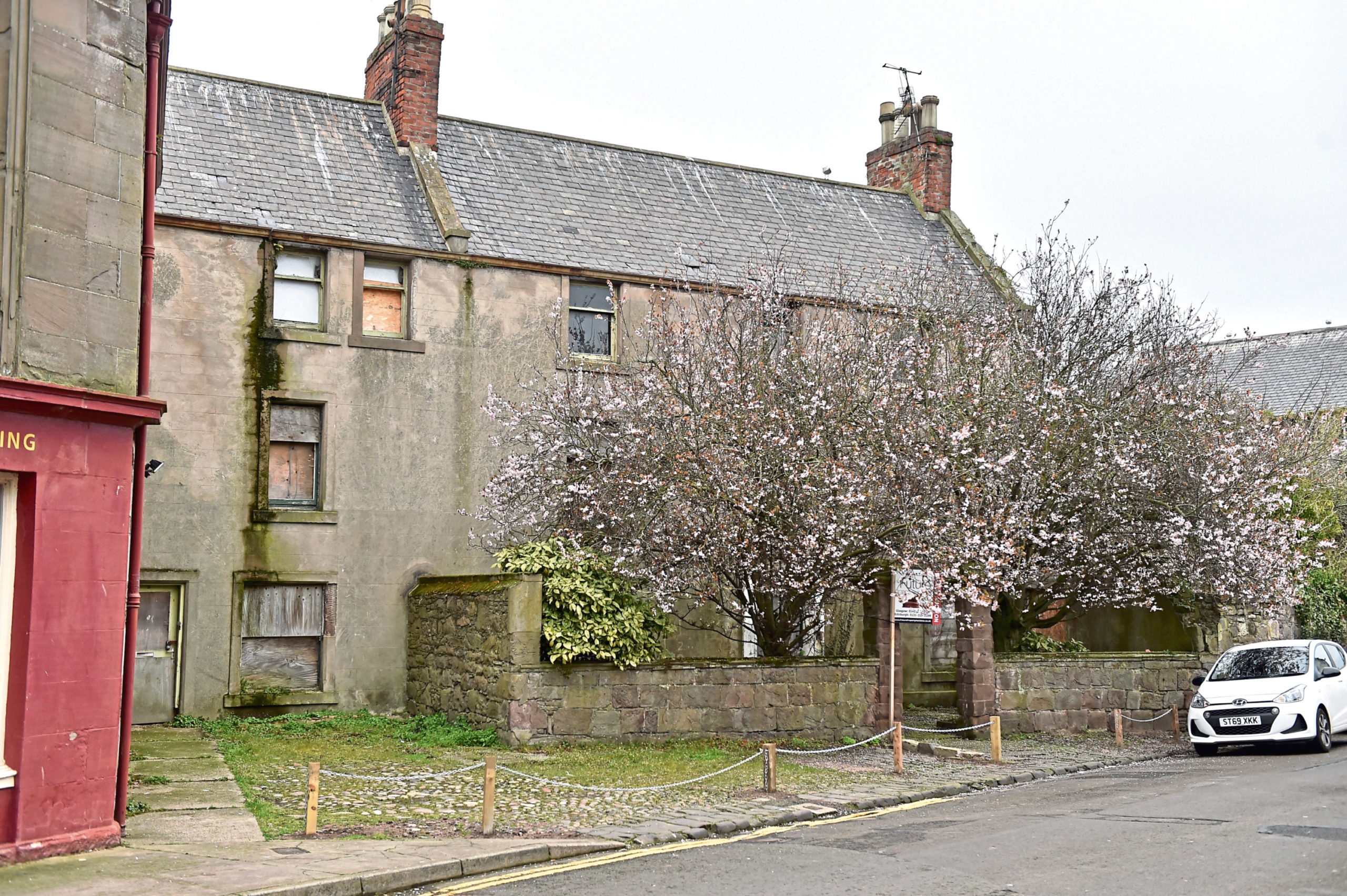 Burness House in Montrose will be auctioned next month