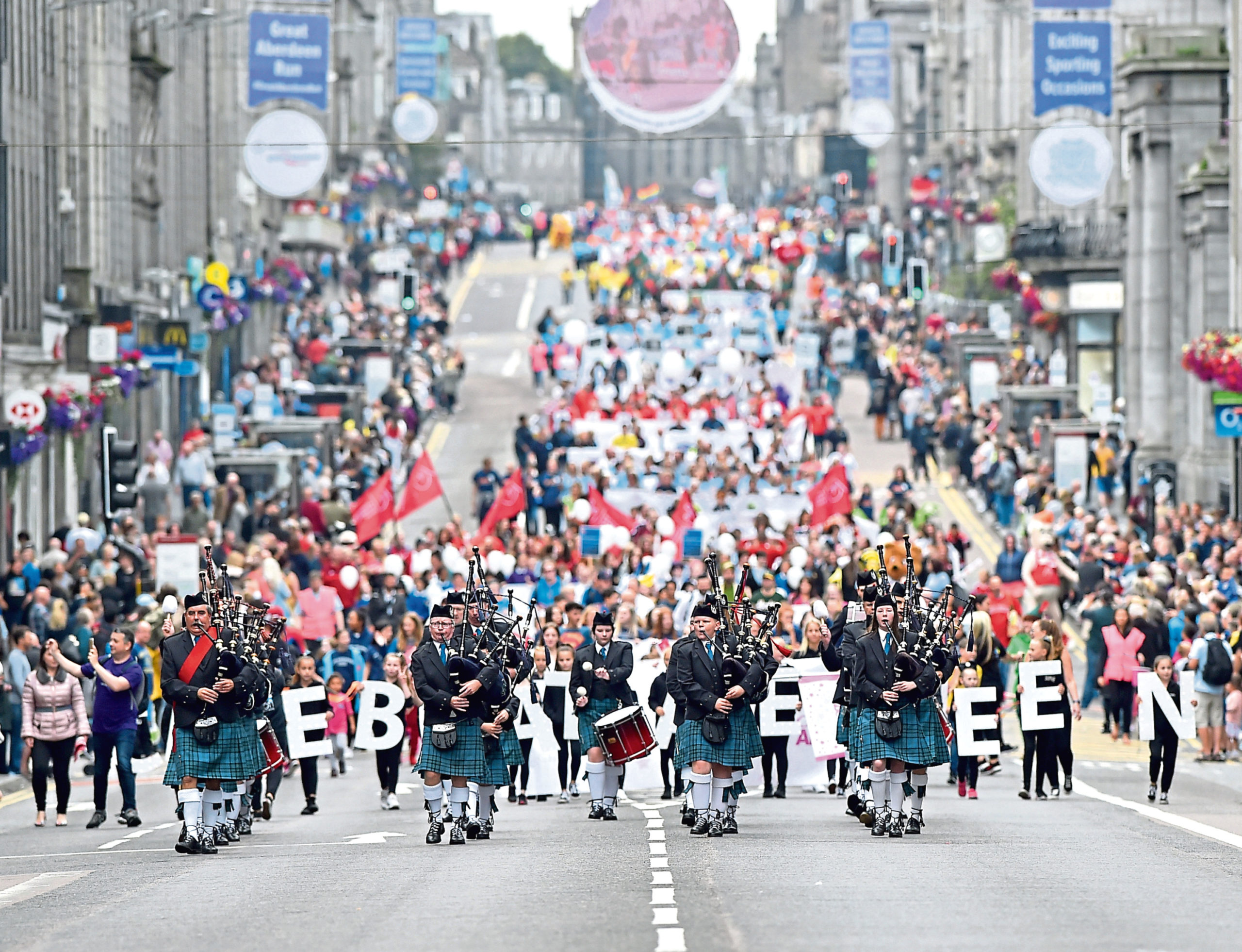 The 2019 Celebrate Aberdeen Parade
