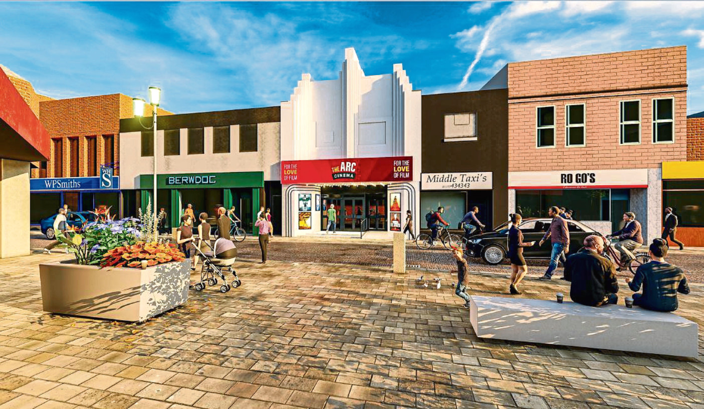 Arc Cinema has invested £2 million in converting the former bingo hall into a state-of-the-art five-screen cinema in Peterhead