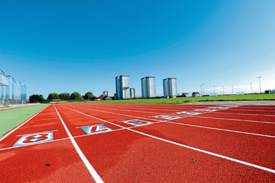 Aberdeen AAC are based at the city's Sports Village.