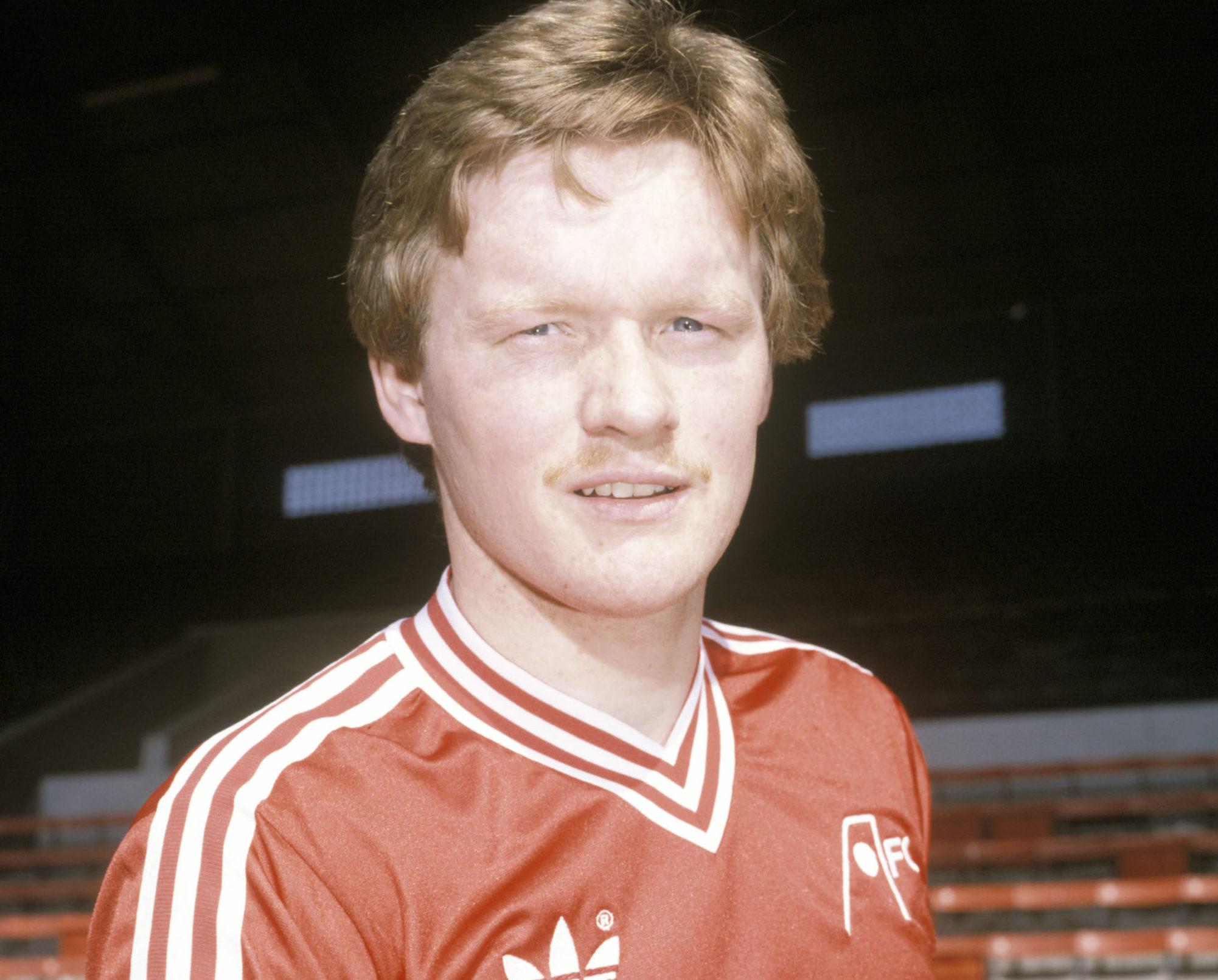 Aberdeen legend John McMaster in 1981.