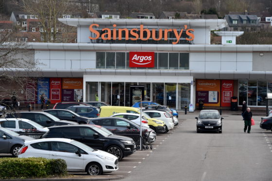 The Argos inside Sainsbury's Garthdee remains open