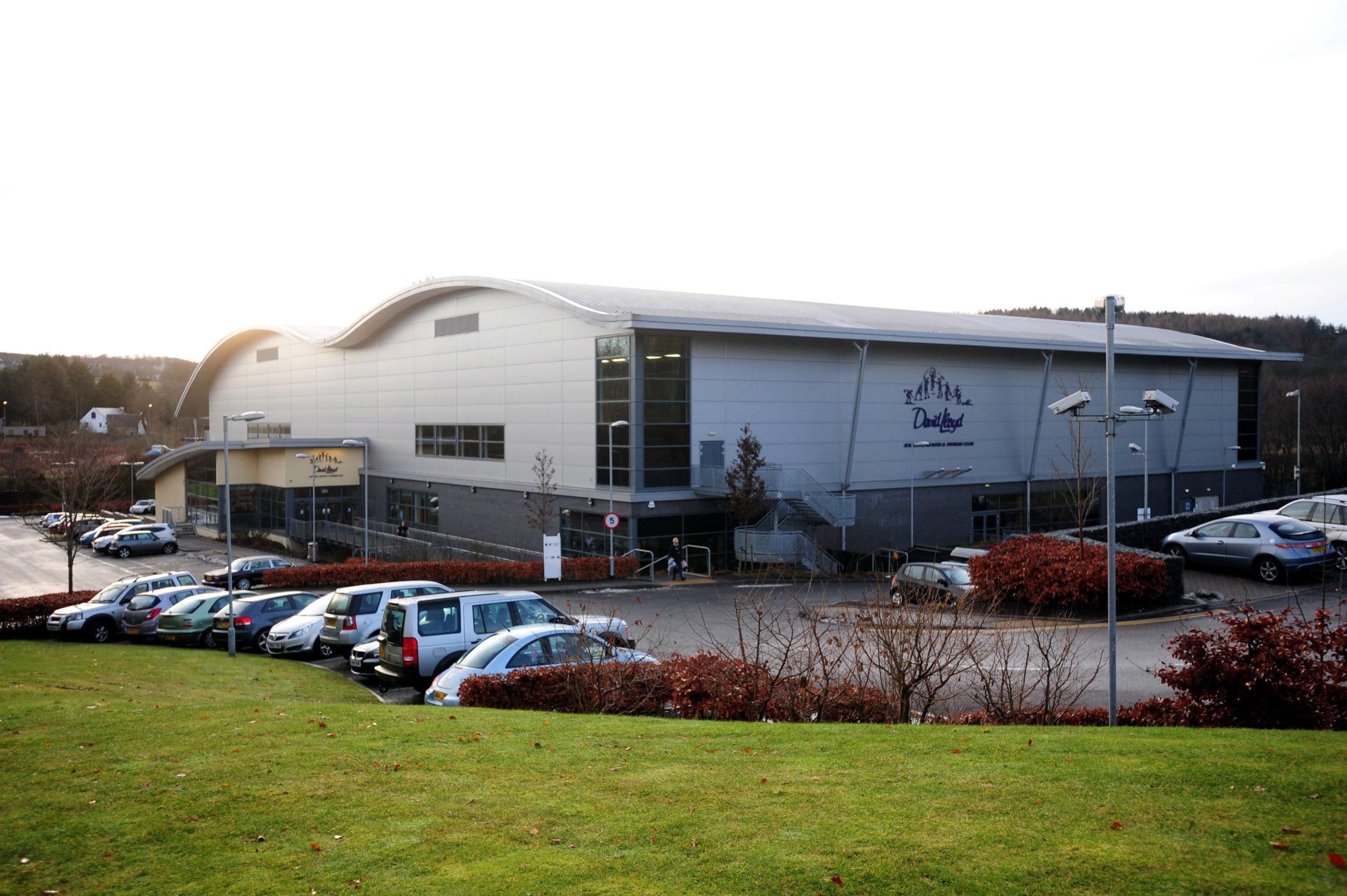 The David Lloyd gym in Garthdee