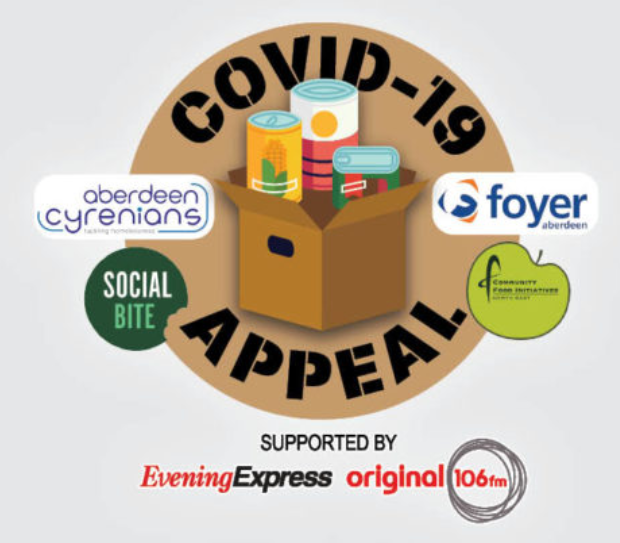 Covid Appeal logo