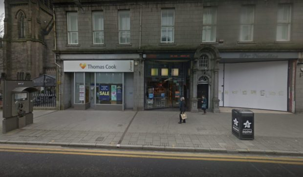 The former Thomas Cook store on Union Street will be transformed into a Gastro pub
