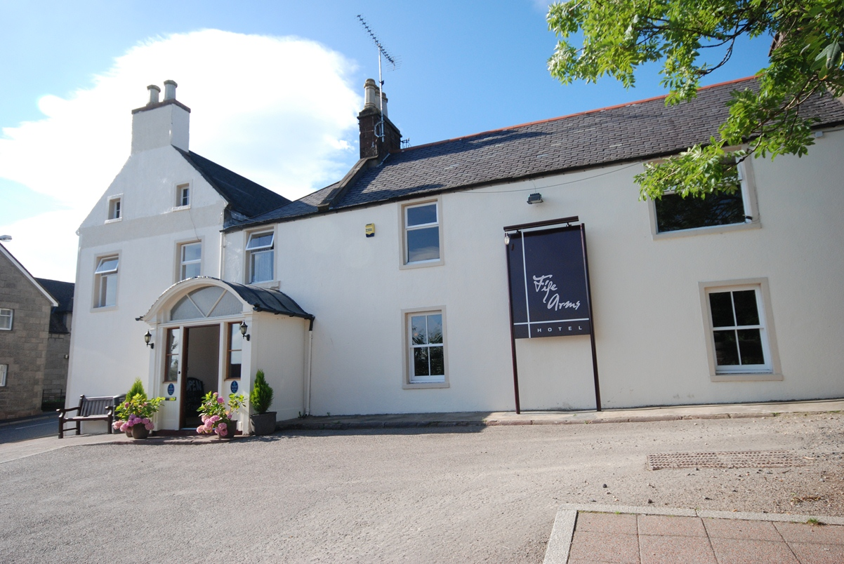 The Fife Arms Hotel will have CCTV cameras installed