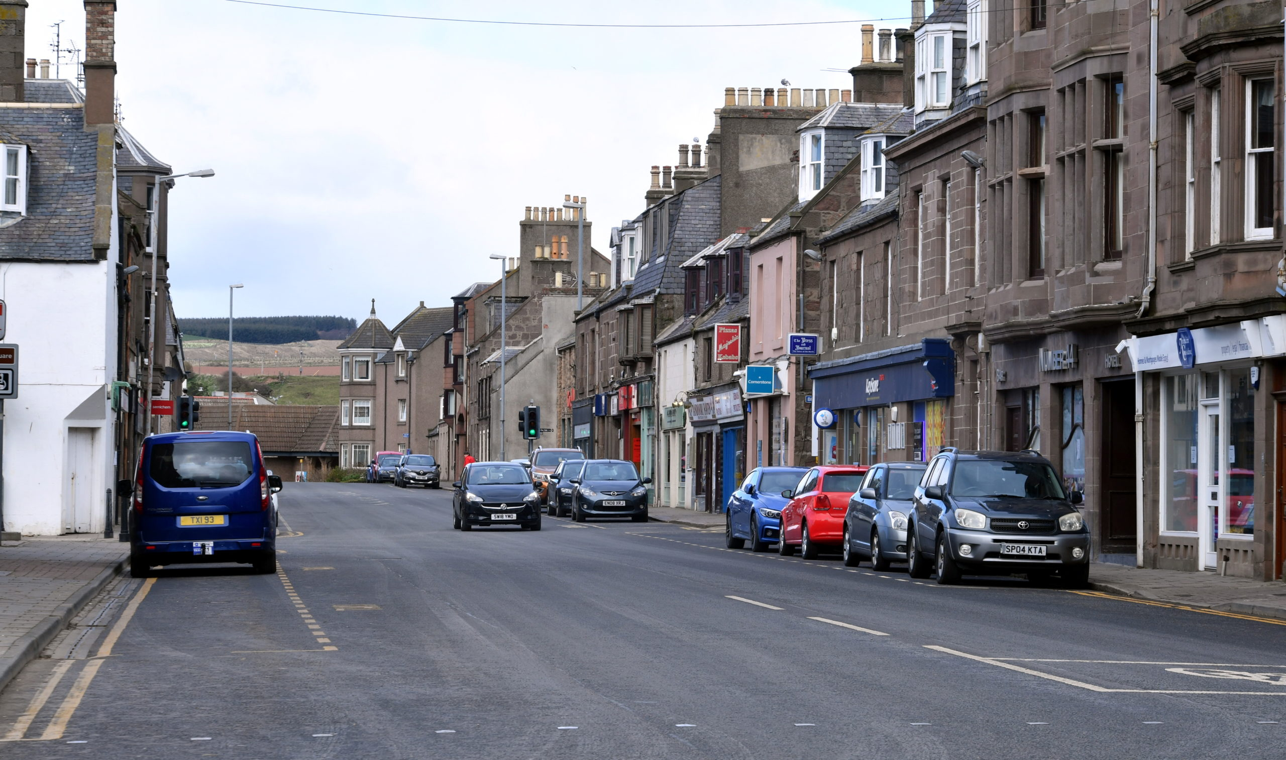 Councillors are considering plans to make Stonehaven easier to navigate.
