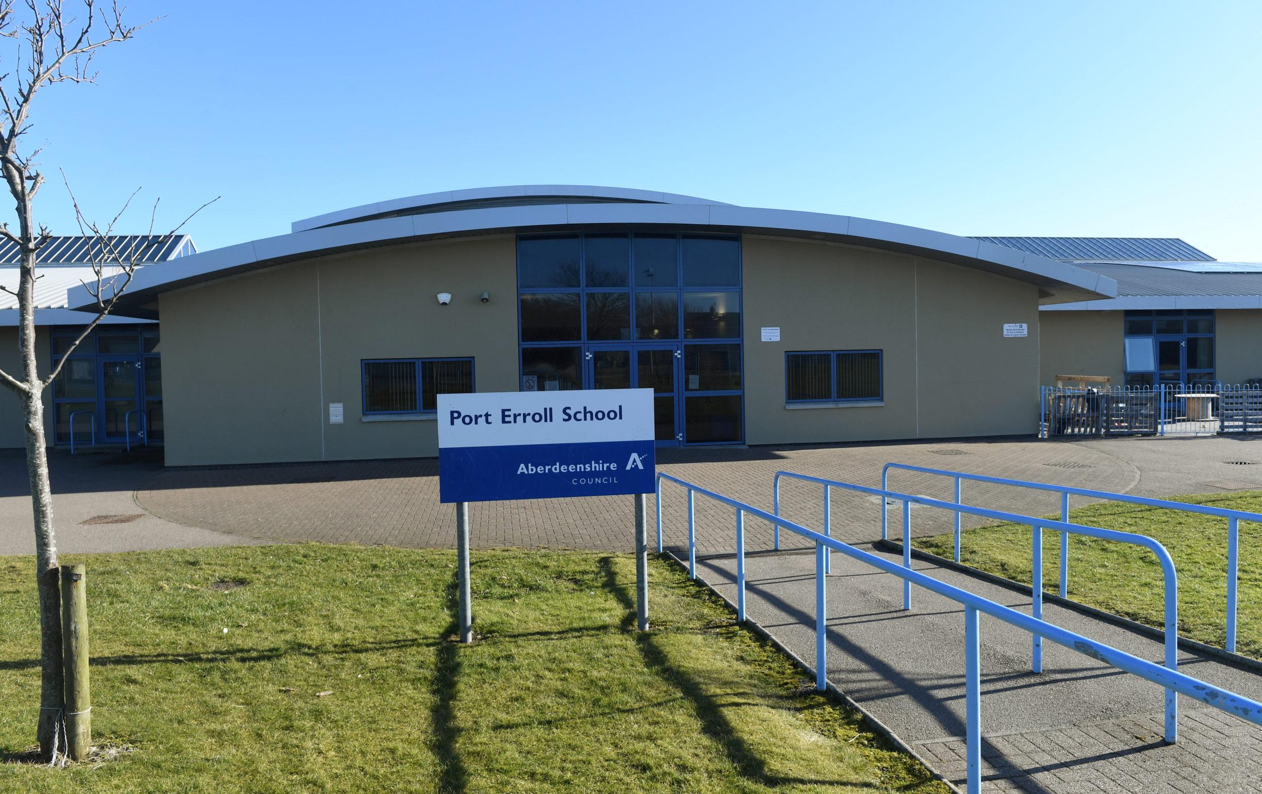 Port Erroll Primary School in Cruden Bay will reopen on August 11