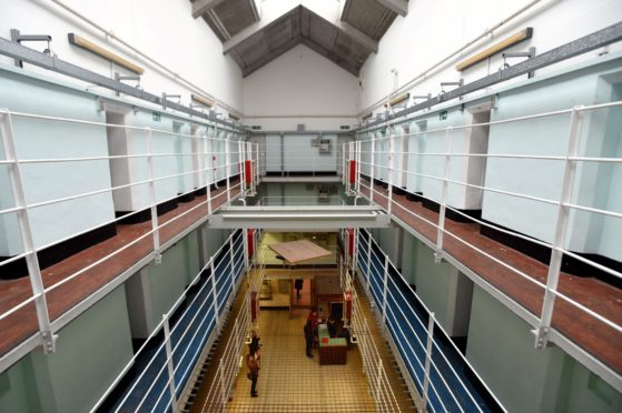 Interior of the Peterhead Prison Museum