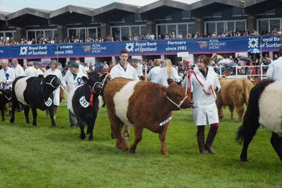 The 2020 Royal Highland Show has been cancelled.