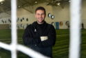 Fraser Stewart, national goalkeeping coach, in attendance at Aberdeen Sports Village for the final trials day for the Scottish FA Performance School. Picture by Darrell Benns