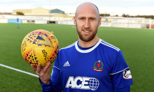 Former Cove Rangers defender Alan Redford.