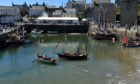 The 25th Scottish Traditional Boat Festival held at Portsoy's harbour.  Picture by KENNY ELRICK     30/06/2018