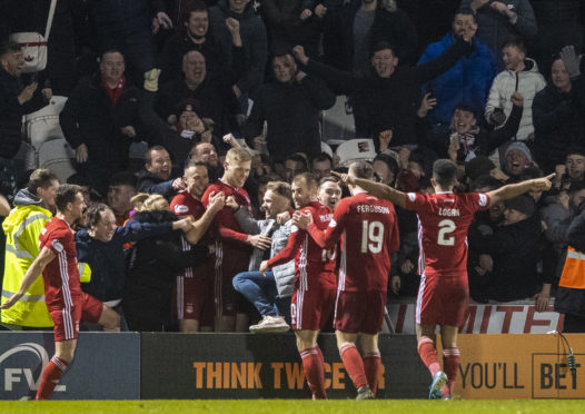 Aberdeen in still in last season's Scottish Cup.