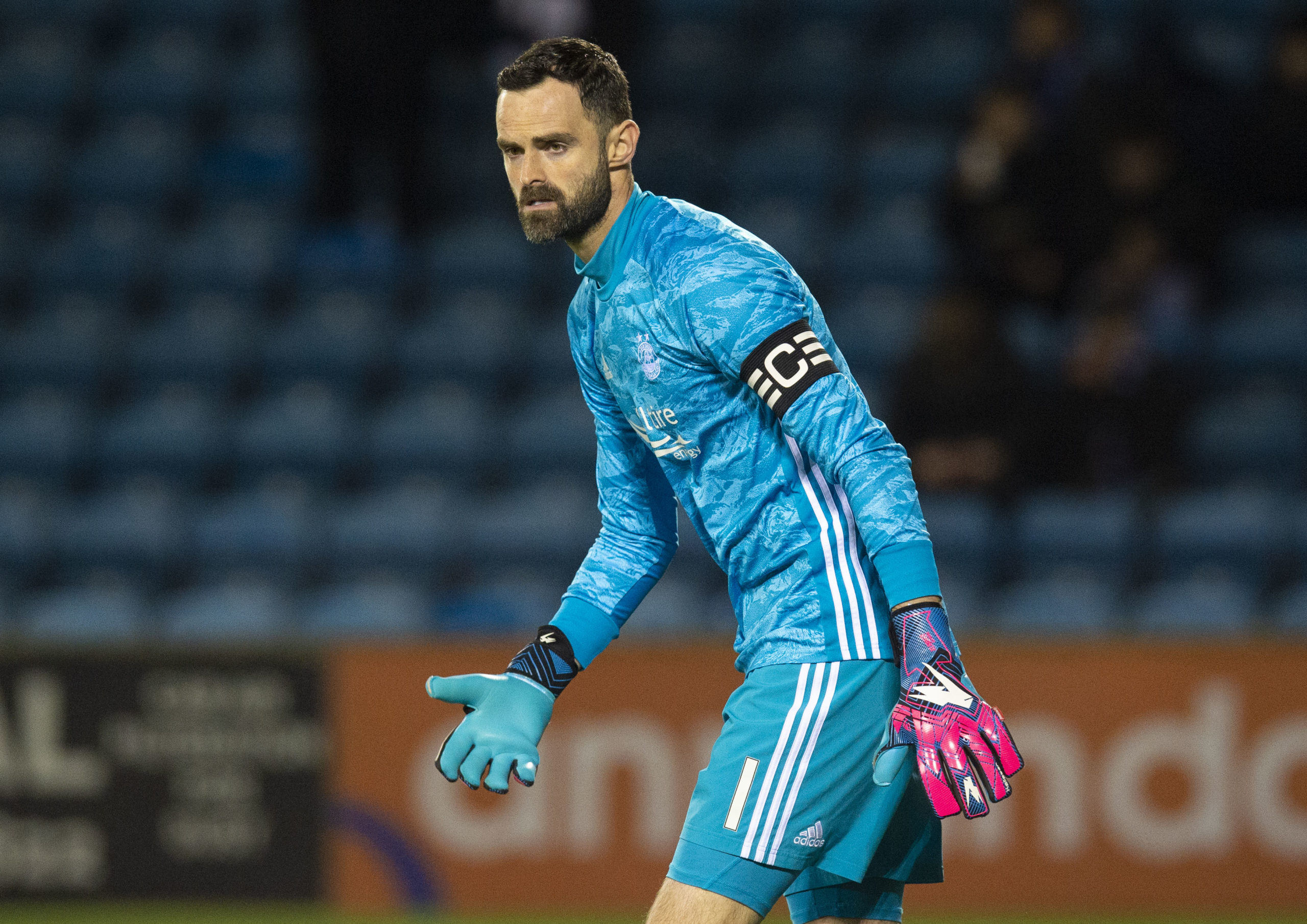 Joe Lewis is in his fifth European campaign with Aberdeen